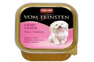 خوراک فشرده (پاته) بوقلمون + ژامبون مخصوص سگ های بالغ چاق و یا کم تحرک/ 150 گرم/ Animonda Vom Feinsten Turkey + Ham