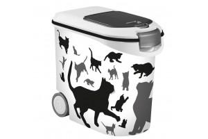 سطل نگهداری غذای خشک گربه - 35 لیتری