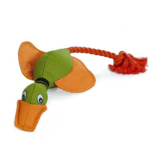 اسباب بازی سگ- اردک طناب دار