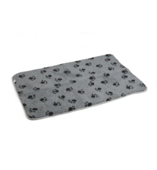 زیرانداز مخصوص باکس و لانه سگ و گربه/ طوسی/ 60×89 cm