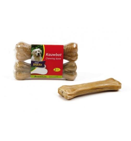 استخوان تشویقی ژلاتینی/ 2 عدد 14 سانتی/ Deli Snacks chew