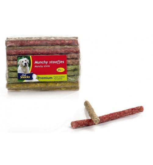 تشویقی مانچی مدادی مخلوط/ 12,5 سانتی/ 25 عددی/ Munchy Sticks color
