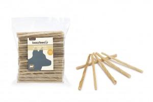 تشویقی میله ای ژلاتینی ضخیم مخصوص سگ/ 100 عدد 12.5 سانتی/ chewing sticks