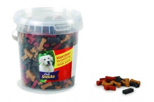 تشویقی سطلی سگ- مخلوط 3 طعم/ 500  گرم/ Mini Bones Mix