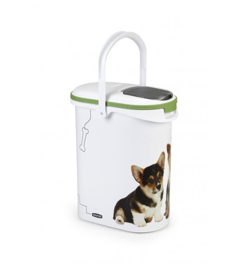 سطل نگهداری غذای خشک سگ- 10 لیتری