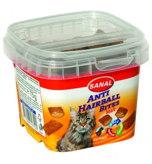 اسنک تشویقی ضد هربال گربه- Anti Hairball Bites cup