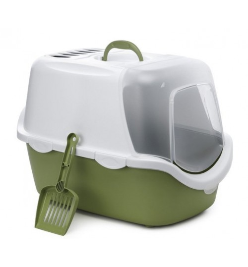 باکس  توالت مسقف گربه با قاب لولایی/ Easy Clean