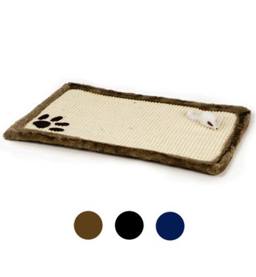 اسکرچر پادری گربه با طرح پنجه/ Plush rustling scratching mat
