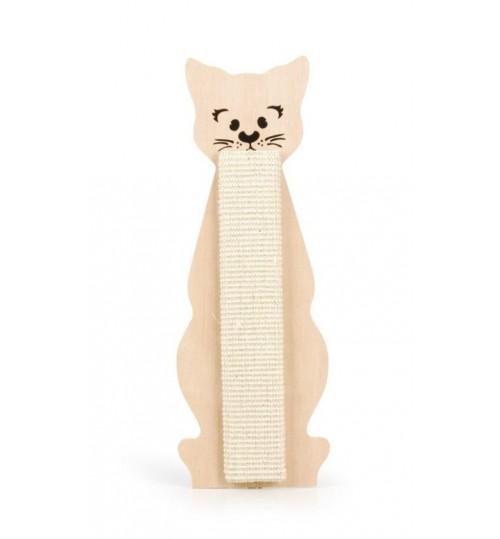 اسکرچر بورد گربه صورتی/ Cat scratch board sisal