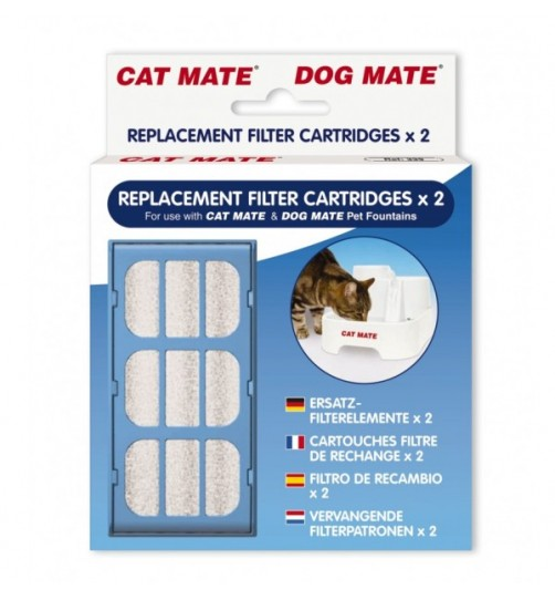 فیلتر آبخوری اتوماتیک Cat Mate/ بسته 2 عددی