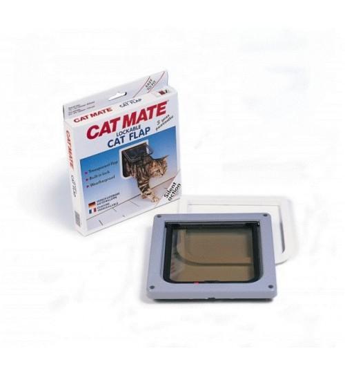 درب تردد  گربه با قفل 2 حالته/ Cat Mate cat door with two way lock