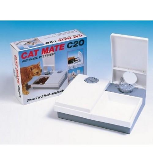 ظرف غذای اتوماتیک سگ های کوچک و گربه/ دو در