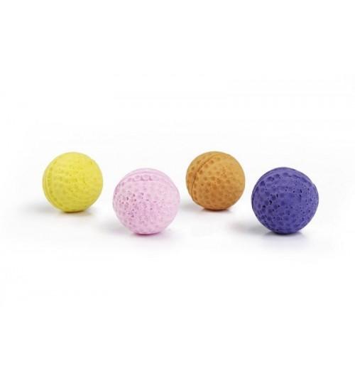 اسباب بازی توپ اسفنجی مخصوص گربه/ 4 سانتی/ بسته 4 تایی