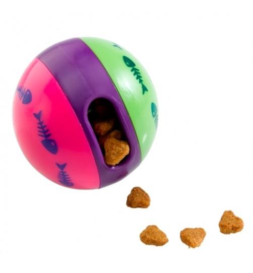 توپ تشویقی مخصوص سگ های کوچک و گربه/ 6 سانتی/ treat ball