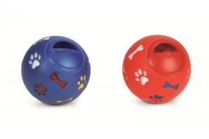 توپ تشویقی با دریچه قابل تنظیم مخصوص سگ های کوچک/ 8 سانتی