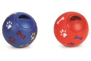 توپ تشویقی با دریچه قابل تنظیم مخصوص سگ های بزرگ/ 15 سانتی