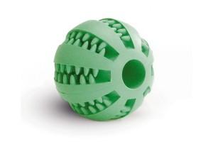 اسباب بازی توپ دندانی مخصوص سگ با طعم نعناع
