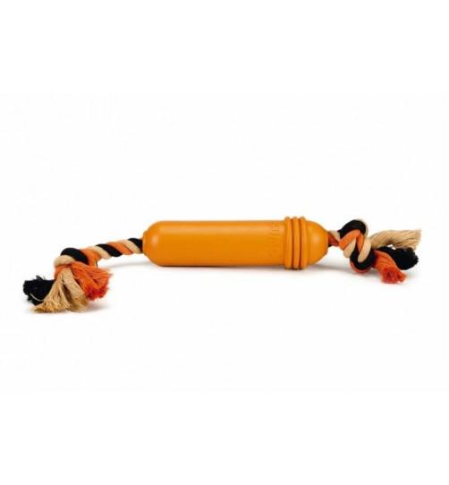اسباب بازی سومو طناب دار مخصوص سگ های بزرگ/ نارنجی