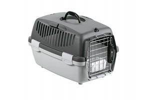 باکس حمل GULLIVER 1 DELUX مخصوص سگ های کوچک و گربه/ طوسی