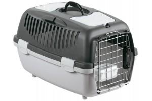 باکس حمل GULLIVER 2 DELUX مخصوص سگ های کوچک و گربه/ طوسی