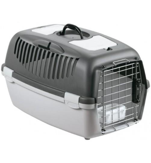 باکس حمل GULLIVER 3 DELUX مخصوص سگ/ طوسی