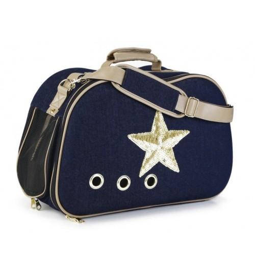 کیف حمل (کریر) مخصوص سگ های کوچک و گربه/ Shiny Star