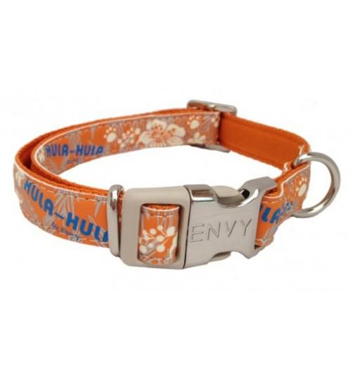 قلاده گردنی سگ مدل Hula Hula/ نارنجی