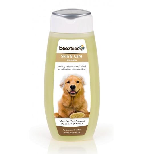 شامپو سگ Skin + Care بیزتیز مخصوص مراقبت از پوست های حساس/ 300 میلی لیتر