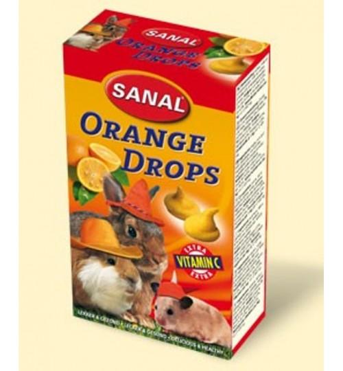 اسنک ویتامینه جوندگان حاوی پرتقال/ Sanal orange drops