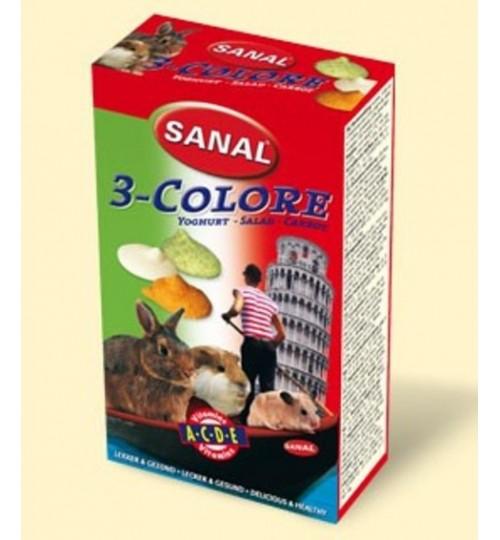 اسنک ویتامینه جوندگان/ مخلوط 3 طعم/ Sanal 3-colore drops