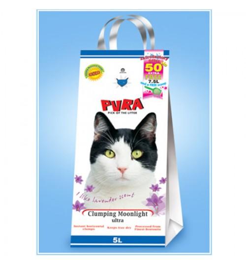 خاک گربه دانه ريز روشن با رايحه گل رز/ 5 کیلویی