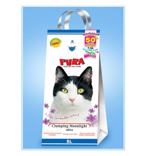 خاك  گربه  دانه ريز روشن با رايحه نعنا/ 5 کیلویی