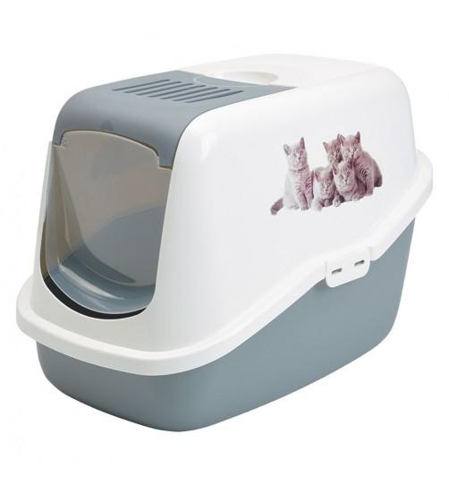 توالت مسقف گربه مدل Nestor impression